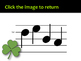 St. Patrick's Day Solfege Reading Practice Interactive Game {re}