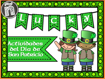 St.Patrick's Day Spanish Activities - Día de San Patricio