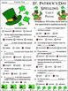 St. Patrick's Day Spelling