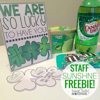 St. Patrick's Day {Staff Sunshine}