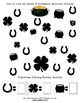 St. Patrick's Day Ten Frame Math / Number Activities