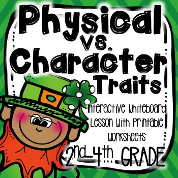 St. Patrick's Day Themed Character Traits & Physical Trait