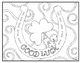 St. Patrick's Day Visual Arts Coloring Pages Highly Detailed