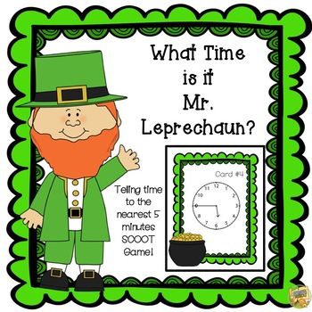 St. Patrick's Day: What Time is it Mr. Leprechaun? Time to