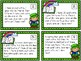 St. Patrick's Day Word Problem Task Cards- one and two part sets