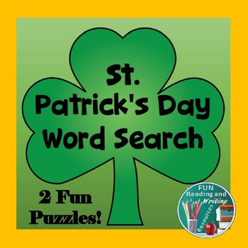 St. Patricks Day Word Search Puzzle