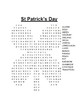 St. Patrick's Day Word Searches (3)