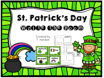 St. Patrick's Day - Write the Room