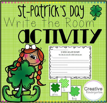 St-Patrick's Day Write the Room