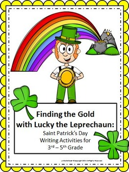St Patrick's Day Writing: Finding the Gold with Lucky the