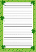 St Patrick's Day Writing Paper, Desk Tags and Bookmarks