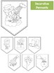 St. Patrick's Day Writing Pennants Set - Papers / Banner /