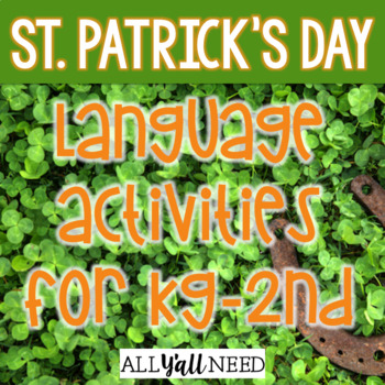 St. Patrick's Day for Speech & Language Therapy - Younger