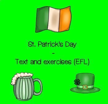 St. Patrick's Day text and exercises (EFL)