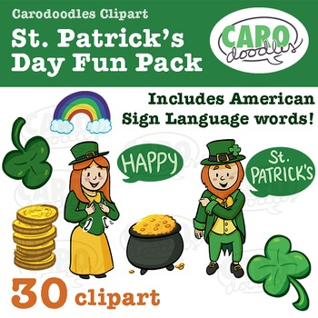 St. Patrick's Day with American Sign Language