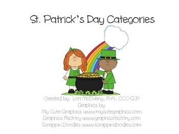 St. Patrick's Categories