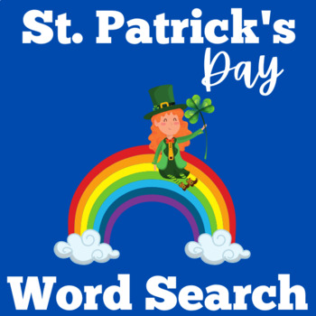 St Patrick's Day Word Search | St. Patrick's Day Activity