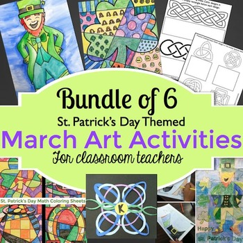 St. Patrick's Day Activities - Bundle for March