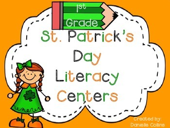 St. Patrick's Day 1st Grade Literacy Pack (10+ CCSS Centers)