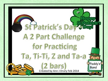 St Patrick's Day - A 2 Part Challenge featuring Ta, Ti-Ti,
