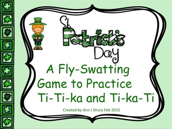 St Patrick's Day - A Fly-Swatting Game to Practice Ti-Ti-k