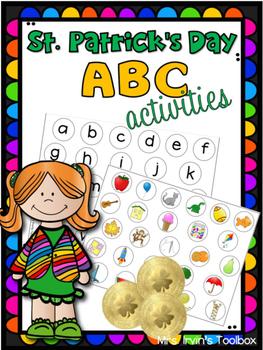 St. Patricks Day ABC activities