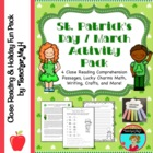 St. Patrick's Day Activity Pack: Close Reading, Math, Writ