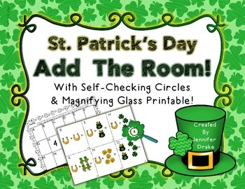 St. Patrick's Day Add the Room to 10; PLUS Shamrock Magnif