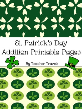 St. Patrick's Day Addition Printable Pages
