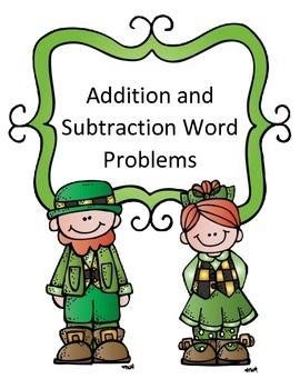 St. Patrick's Day Math Activity Addition and Subtraction W