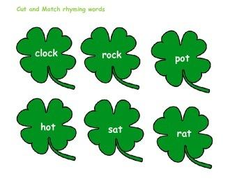 St Patrick's Day Blending Games
