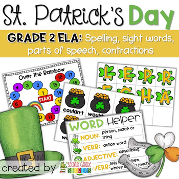 St. Patrick's Day Centers ~ Language Arts Activities and Centers
