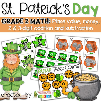 St. Patrick's Day Centers ~ Math Centers and Activities