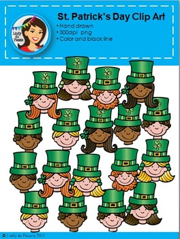 St. Patrick's Day Clip Art Kids