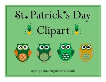 St. Patrick's Day Clipart {Freebie}