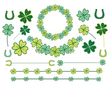 St. Patricks Day Clipart Set #222