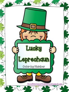 St. Patrick's Day Color-By-Number