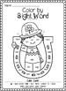 St. Patrick's Day Color by Sight Word Bundle (Pre-primer &