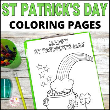 St Patrick's Day Colouring Sheets - Fun for the whole clas