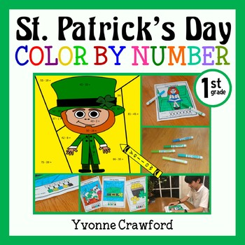 St. Patrick's Day Color by Number (first grade)  Color by