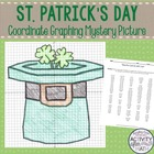 St. Patrick's Day Coordinate Graphing Ordered Pairs Mystery Picture