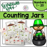 St. Patrick's Day Counting Jars - Aligned to Common Core