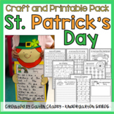 St. Patrick's Day Craft and Printable Pack