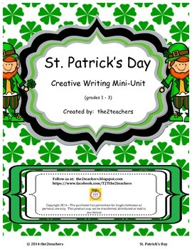 St. Patrick's Day Creative Writing:  Prewrites, Prompts an