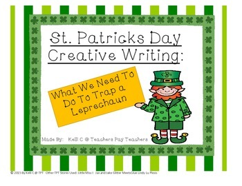 St Patricks Day Creative Writing about Trapping a Leprechaun