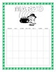 Spanish St Patrick's Day- March Calendar-Interactive San P