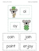 St. Patrick's Day Diphthong oi, oy Word Sort