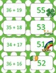 St. Patrick's Day Double Digit Addition With Regrouping Ca