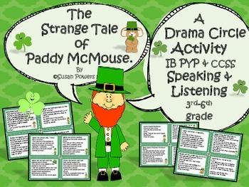 St Patricks Day Drama Circle Activity The Strange Tale of