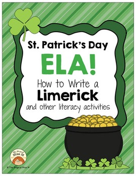 How to Write a Limerick: St. Patrick's Day ELA! (and other